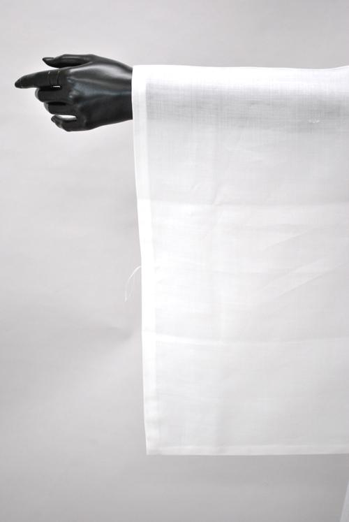 装道の麻の美容替袖です。