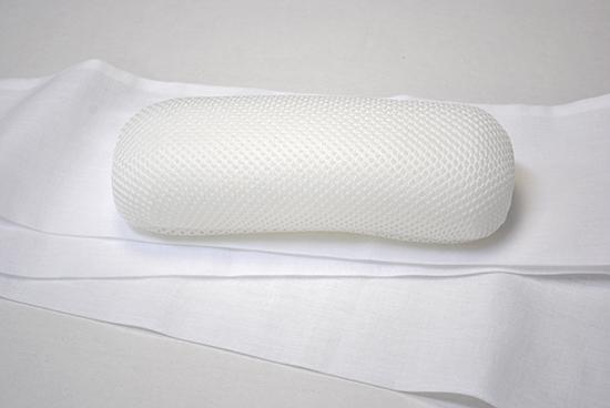 装道の美容帯枕です。